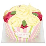 Morrisons Rose Cupcake Celebration Cake
