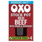 Oxo Reduced Salt Stock Pot Rich Beef with Onion & Rosemary