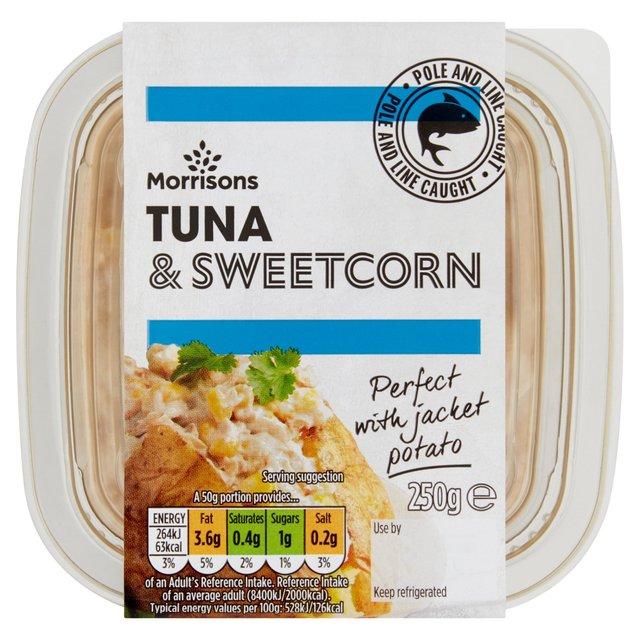 Morrisons Tuna & Sweetcorn Filler