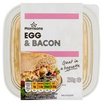 Morrisons Egg & Bacon Filler