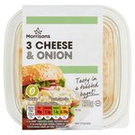 Morrisons 3 Cheese & Onion Filler