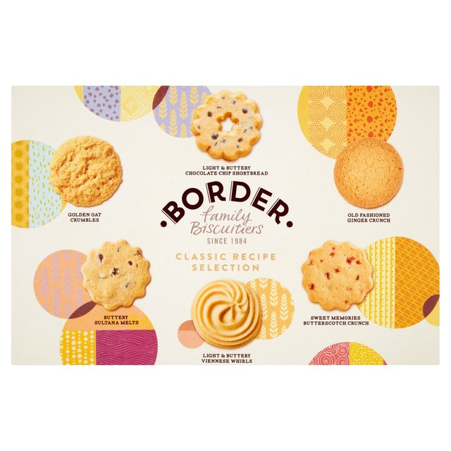 Morrisons border classic recipes luxury biscuit selection border classic recipes luxury biscuit selection forumfinder Image collections