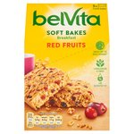 BelVita Breakfast Biscuits Soft Bakes Red Berries 5 Pack
