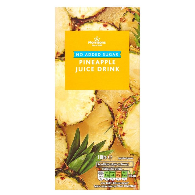 Morrisons No Added Sugar Pineapple Juice Drink