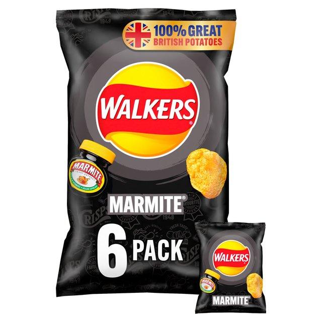 Walkers Marmite Multipack Crisps