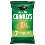 Jacob's Crinklys Cheese & Onion