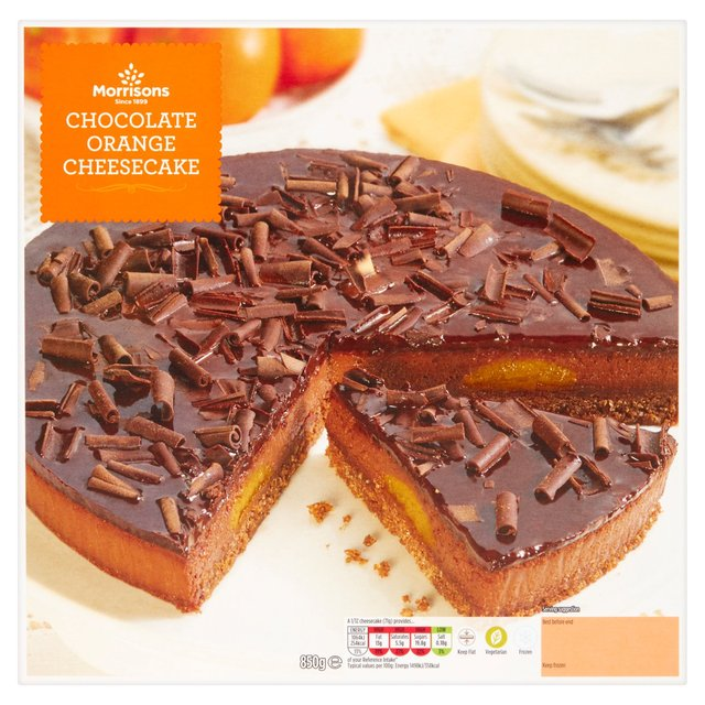 Morrisons Morrisons Chocolate Orange Cheesecake 850g Product