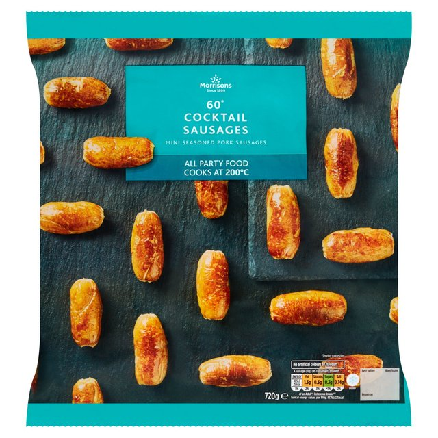 Morrisons 60 Pork Cocktail Sausages