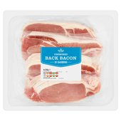 Morrisons Unsmoked Back Bacon