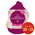 Morrisons Frozen Basted Turkey Extra Extra Large 8.9 - 10.6 KG