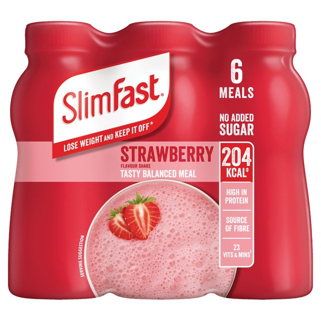 Slim-Fast Milkshake Strawberry