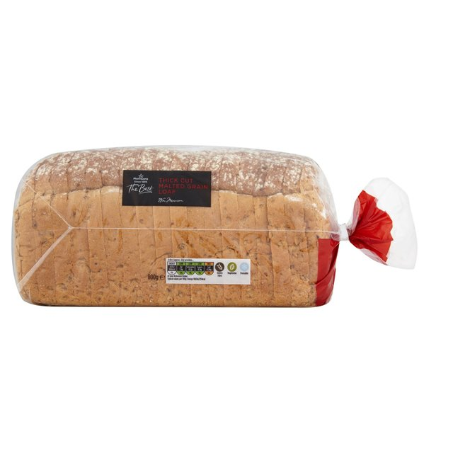 Morrisons The Best Thick Cut Malted Grain Loaf