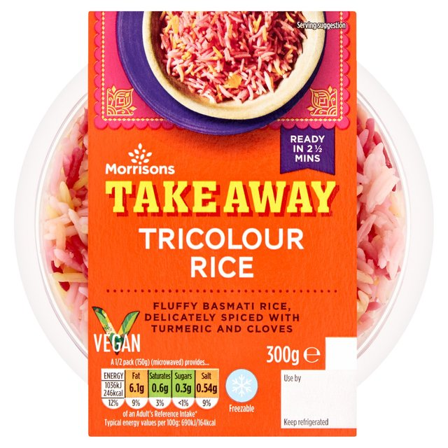Morrisons Takeaway Tricolor Rice