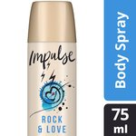 Impulse Rock & Love Deodrant Aerosol