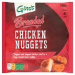 Ginos Breaded Chicken Nuggets