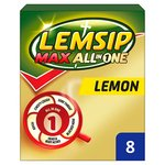 Lemsip Lemon Hot Drink Max All In One