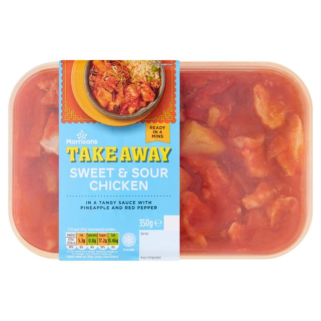 Morrisons Chinese Sweet & Sour Chicken