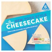 Morrisons New York Cheesecake
