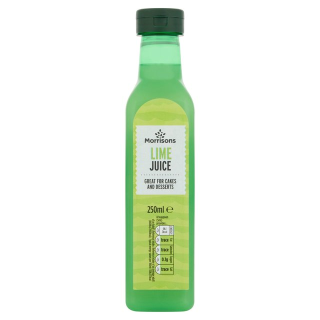 Morrisons: Morrisons Lime Juice 250ml(Product Information)