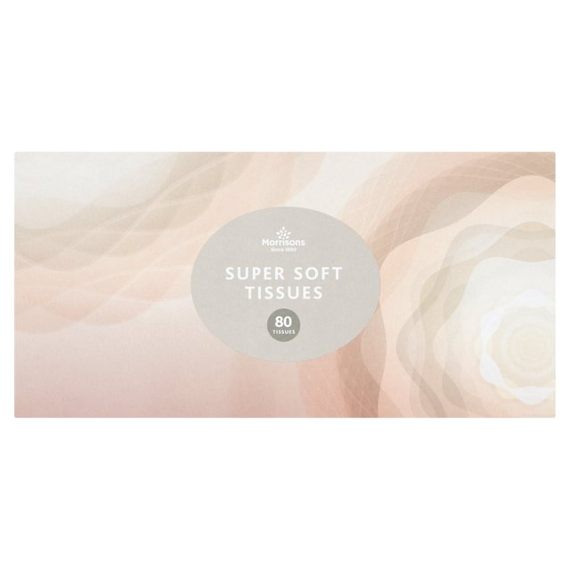 Morrisons Ultra Soft Regular Tissues 80 Sheets