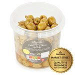 Chilli & Garlic Olives Pot