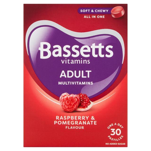 Bassetts Adult Multi Vitamin Raspberry & Pomegranate