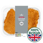 Morrisons 2 Breaded Chicken Fillets