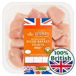 Morrisons Diced Chicken Breast
