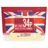 Morrisons For Farmers Extra Mature Cheddar