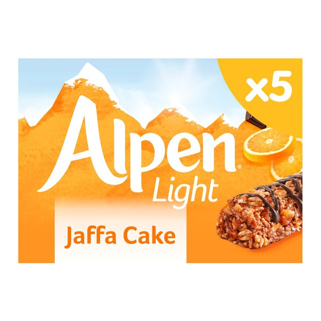 Alpen Light Cereal Bars Jaffa Cake