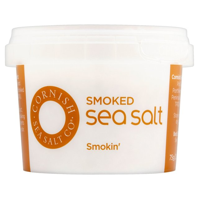 Morrisons: Cornish Sea Salt Smoked Sea Salt 75g(Product Information)