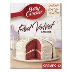 Betty Crocker Red Velvet Chocolate Cake Mix