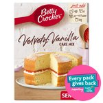 Betty Crocker Velvety Vanilla Cake Mix