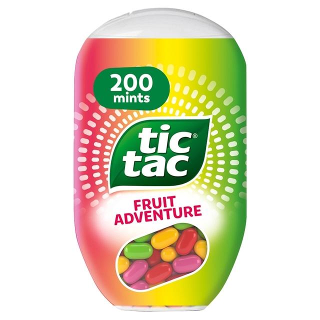 Morrisons: Tic Tac Mixers Fruit Adventures 96.6g(Product Information)