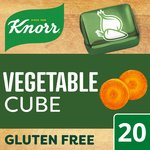 Knorr Vegetable Stock 20 Cubes