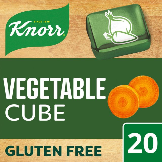 Knorr Stock Cubes Vegetable 20 x 10g