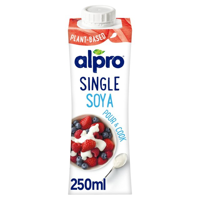Alpro Soya Single Cream