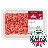 Morrisons British Beef Mince 20% Fat