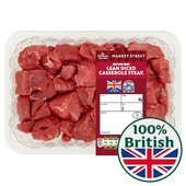 Morrisons British Lean Diced Casserole Steak
