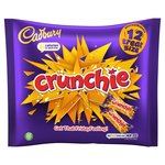 Cadbury Crunchie Treat Size 12 Bars