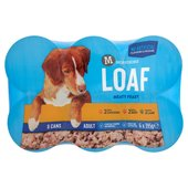 Morrisons Complete Dog Food Loaf Chicken/Beef/Lamb