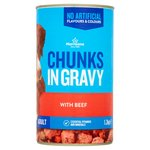 Morrisons Complete Dog Food Chunks In Gravy With Beef & Veg