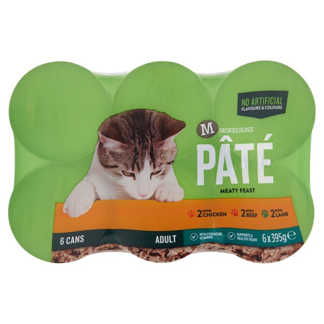 Morrisons Complete Loaf Chicken Beef & Lamb Cat Food