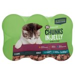 Morrisons Complete Chunks In Jelly Chicken Beef & Ocean Fish Cat Food