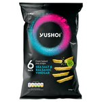 Yushoi Soy & Balsamic Vinegar Snapea Rice Sticks 6X21G