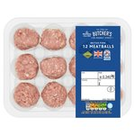 Morrisons 12 Pork Meatballs