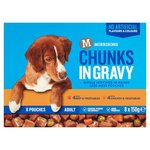 Morrisons Dog Food Pouch Multipack Beef Chicken & Veg