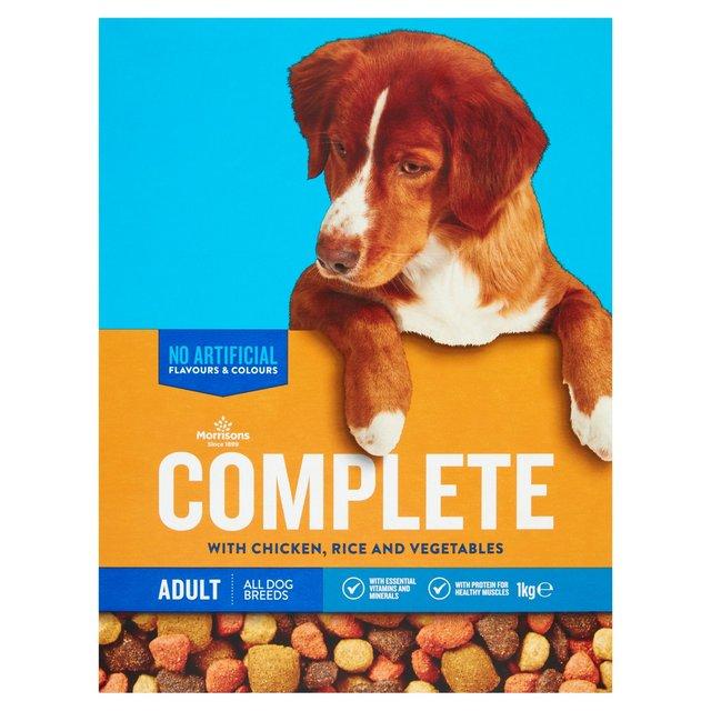 Morrisons Complete Dog Food Chicken Veg 1kg Morrisons