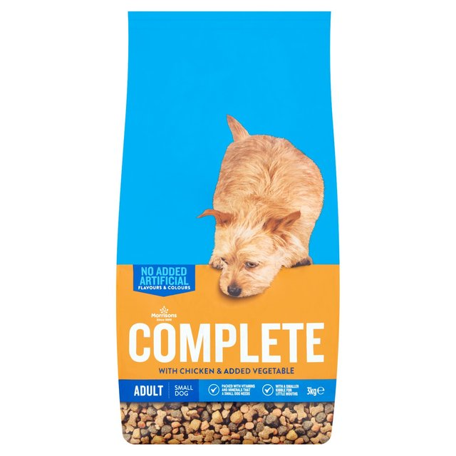 Morrisons Complete Small Dog Chicken & Veg Pet Food