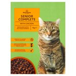 Morrisons Senior Cat Food Box Chicken Turkey & Rice